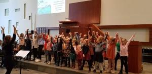 Optreden in de Zenderkerk te Huizen